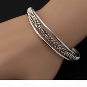 Vintage Cuff Bangles For Men Women 18K Gold Plated Cuff Bracelets High Quality Fashion Jewelry Jewellery Wholesale YH5147