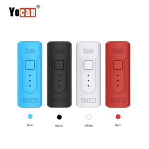 Аутентичные Yocan Кодо батареи 400mAh Регулируемое напряжение Vape Box Mod для 510 Thread Тележки густое масло Atomizer картридж 100% Origianl