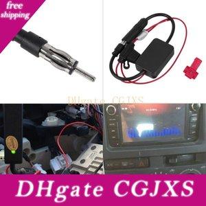 Negro 12v Automóvil radio de coche amplificador de la señal de FM automático Ant -208 Antena Booster envío