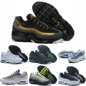 2020 Air OG Cushion Mens Running Sports Shoes Authentic Maxes Chaussures 20th Anniversary Sneakers Triple Black White Trainers