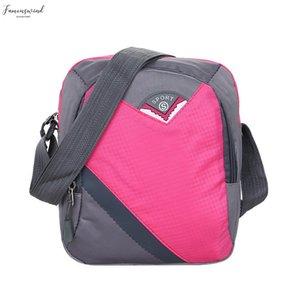 Women Men Nylon Shoulder Bags Zipper Waterproof Handbags Outdoor Large Capacity Bag Fashion Ladies Handbags 25