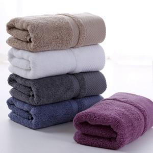 Adulto Thicken Face Wash Towel 100% puro algodão grosso macio algodão de fibra longa toalha Início 5 cores leve altamente absorventes VT1401
