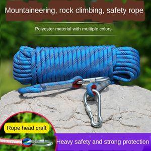 Açık tırmanma hayat iniş Naylon emniyet tırmanma emniyet halatı naylon ip