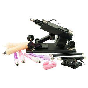 FREDORCH Sex Machine Feminino Masturbação bombeamento Gun com 6 Machines amor Dildo Anexo automáticas para Mulheres Sex produtos T200801