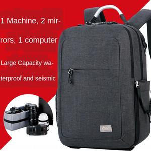 9T9Sn Matchmaker CX1013 double shoulder photography digital SLR camera bag notebook business Laptop Backpack Camera Backpack fashion Multi-F
