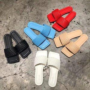 qLB6v BV axige же интернет-знаменитость Coat тапочек Slippersangry квадратная голова супер горячая лето новая мода сплетенной верхней одеждой однострочной туфли