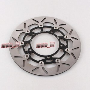 For GSR400 2006-2010 & GSR750 (ABS) 2011-2014 & B-KING 1300 2008-2010 Motorcycle Front Brake Disc Rotor Arashi dbI0#