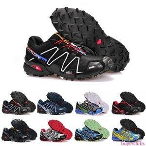 Brand Speedcross 3 CS Running Shoes For Men Breathable Waterproof Outdoor Speed Cross 3 Athletic Sports Sneakers Hiking Shoes Eur 40-46