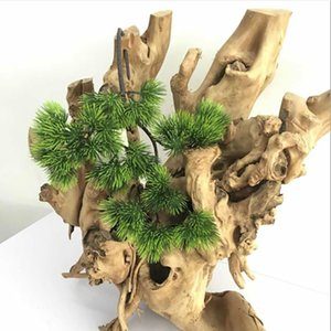 new arrival Pine needle Eucalyptus Leaves Artificial flower Leaves Tropical Plant office home wedding Plants Garden Home Office Decoration