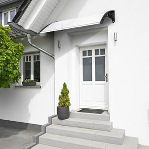 Neue Ankunfts-Tür-Fenster-Sun Shleters Recht Praktische Regen Cover Eaves Canopy Mordens Home Use Fenster Decora Eaves USA Stock