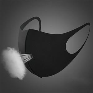 lavaggio per bambini per adulti alla polvere protezione solare traspirante maschera di cotone di seta del ghiaccio regolabile riutilizzabile lavabile per gli uomini e le donne