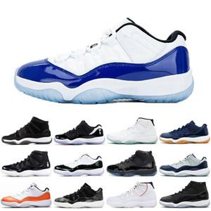 Il nuovo arrivo 11 11s Scarpe Uomo Donne di pallacanestro 25 ANNI cappello e abito Prom Night scarpe sportive addestratori delle scarpe da tennis 36-47