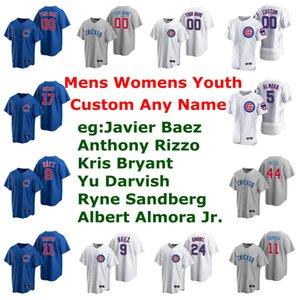2020 Baseball Maglie Womens Albert Almora Jr. Jersey Jason Heyward Andre Dawson Addison Russell Kyle Schwarber Hendricks personalizzato cucito