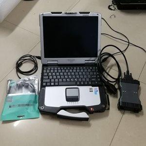 Auto Diagnostic Tool MB Star C6 VCI интерфейс C6 с V12 / Программное обеспечение 2020 Используется ноутбук CF30 CF30 готов к использованию