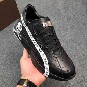DesignersPHILIPPPLEINPP2019 Fashion Mens Shoes Zapatos de hombre with Origin Box Low Top Hiking Sneakers Breathable Lig