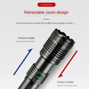 XHP70 Outdoor LED Blendung Scheinwerfer Schatz heran taktischen Charging Schatz Taschenlampe Taschenlampe mit Lade