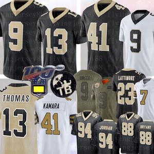 9 Drew Brees 13 Michael Thomas 41 Alvin Kamara Jersey 23 Marshon Lattimore Cameron Taysom Hill Dez Football