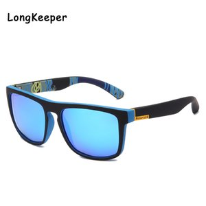 2020 Square Polarized Sunglasses Men Mirror Ultralight Glasses Sport Fishing Sun Glasses Male UV400 Driver Shades Coating Oculos