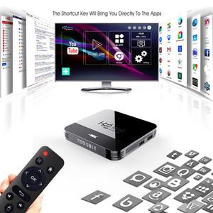 H96 Mini h8 Android 9.0 TV Box Rockchip RK3228A Dört Çekirdek 2.4G 5G WiFi, Bluetooth 4K Set Top Box 1GB 8GB