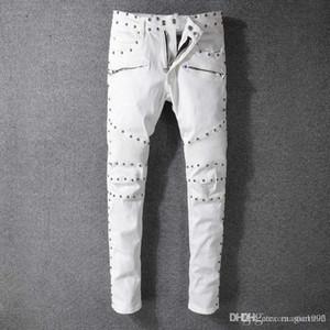 2020ss latest Italian men's hollow high quality jeans hip hop logo designer pants Christmas men's size new HY021