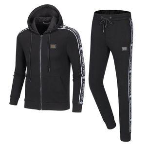 New 2019 men's full zip tracksuit Medusa tracksuit men's Jogging Suit Fashion men's hoodie sweatshirt outdoor tracksuit