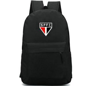 SPFC Rucksack Sao Paulo Futebol Clube Fußball-Club Daypack-Team Schulranzen Durable Rucksack Beiläufiges Schultasche im Freien Tagesrucksack