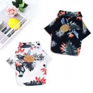 Summer Pet Printed Clothes For Dog clothes Floral Beach Shirt Jackets Dog Coat Puppy Costume Cat Spring Clothing Pets Outfits