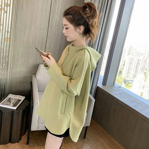 2020 New Spring Autumn Women's Hooded Sweatshirt Korean Ulzzang Harajuku Female Long Sleeve Hoodies Streetwear Pullover A124