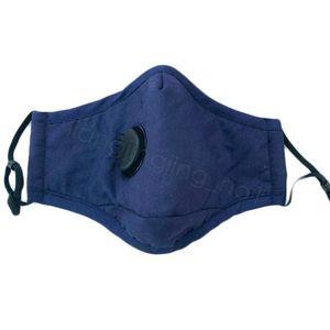 Maschere esterno solido Viso Color cover bocca maschera antipolvere Maschera con la respirazione Valve Mask può essere collocato il PM2,5 filtro 4265F-4