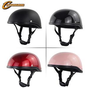 Electric vehicle motorcycle helmet half helmet all seasons unisex