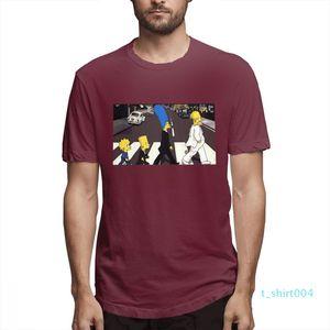 Cotton Os Simpsons desenhador de moda camisas camisas das mulheres dos homens de manga curta Camisa O c3505t04 Simpsons Impresso camisetas Causal