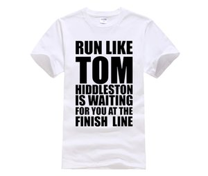 Phiking Film shirt ras du cou hommes Runer comme Tom Hiddleston T-shirts manches courtes Graphic