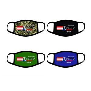 24styles Trump Maske amerikanische Wahl Cotton Masken Keep America Great Again Cosplay Biden Partei-Gesichtsmasken Anti-Staub-Mund-Abdeckung neu GGA3566