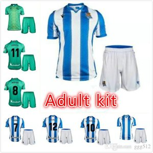 Adult kit 2019 2020 Real Sociedad X PRIETO OYARZABAL GRANERO Soccer Jersey CARLOS AGIRRETXE PRIETO camiseta de futbol JUANMI Football Shirt
