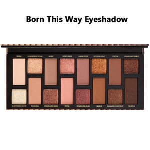 Nuovo volto trucco Born This Way The Natural nude Eye Shadow cosmetici Shimmer Matte Eyeshadow Palette 16 colori