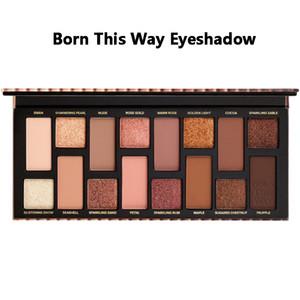 الوجه الجديد ماكياج الولادة بهذه الطريقة الطبيعية عارية ظلال العيون مستحضرات التجميل وميض لامع عينيه لوحات ألوان 16
