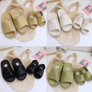 Childrens Infant kanye west Bone Baby Black Slides Big Kids Summer Sandals Foam Toddlers Desert Sand Resin Beach Boys Girls Slippers Shoes