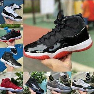 검은 고양이 최고 품질의 신발 4 4s 저렴한 스니커 즈 화이트 시멘트 무엇 1 1 초 회색 망 농구 신발 11 11s 콩코드 남성 스포츠 스니커즈