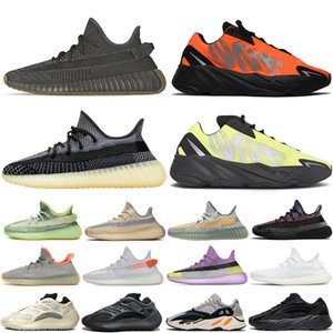 Adidas yeezy boost 350 Vanta Geode Cement Inertia Static Wave Runner Running Shoes For Mens Womens 700s Mauve sports sneakers 36-46