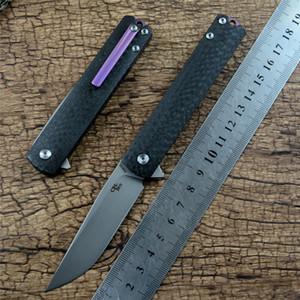 CH cep katlama bıçak CH3513S M390 seramik bilyalı rulman diski karbon fiber sap açık kamp av Mini bıçağı bıçağı