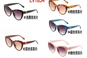 Sunglasses Hot Selling Fashion Brand Designer Sunglasses women Sun glasses Classic eyewear big Frame Oculos 1854