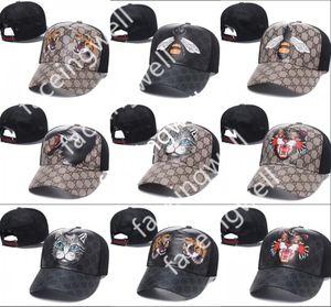 fashion new style tiger Baseball Caps Curved visor Casquette gorras ball cap snapback sports gûccì men hats for men women bone Luxury hats