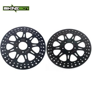 """BIKINGBOY 11.5"""" Диски Роторы Передние Задние тормозные диски для XL883 XL883C XL883H XL1200C XL1200N XL1200H"""