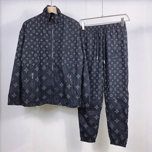 Summer sports leisure men's suit Korean fashion ruffian handsome fashion men's suit 833
