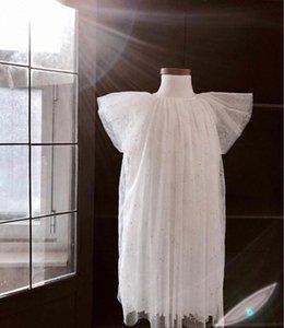 satış öncesi ZMHYAOKE 2020 Yaz Çocuk Giyim Şükran Kız Noel Elbise Bebek Kız Prenses Giydirme Kız Elbise dlh9 #