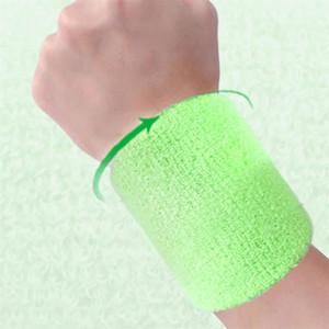 Volleyball Basketball 5 * 8cm Handgelenkstütze Schutz Baumwolle Armbänder Handgelenk-Band-Bands Schweißbänder Schweißband für Sport Tennis