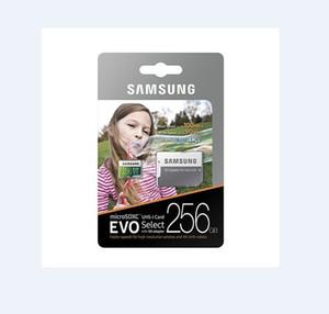 1pcs de 32 GB / 64 GB / 128 GB / 256 GB Samsung EVO Select Plus para tarjeta micro SD / TF tarjeta de vehículo grabador / 4K cámara de alta definición tarjeta de almacenamiento de 100 MB / S