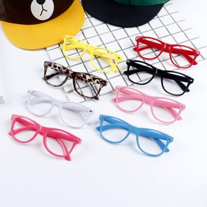 Hot Sunglasses Unisex Sunglasses Rivet Sunglasses Retro Color Unisex Punk Geek Style Clear Lens Glasses Eyewear Designer