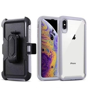 Per Iphone 12 11 Pro Max 6 7 8 Plus X XS Shock di protezione Corpo MAX XR Heavy Duty Robusto completa Assorbimento Belt Holster clip caso