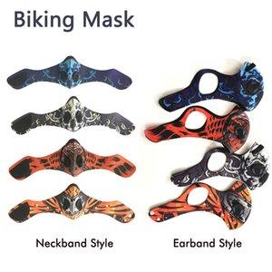 Adultes vélo en plein air Masque Sport jugging antipoussière coupe-vent Respirer CYCLISTE Neckband Couverture Fasion design avec Valve Aspirator
